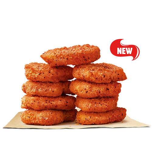 Spicy Chicken Nuggets 9 Pcs
